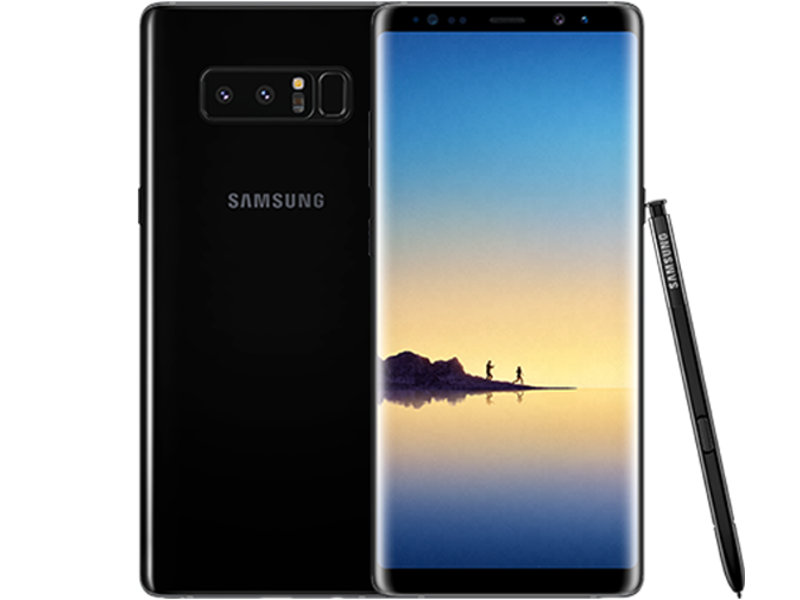 Galaxy Note 8 N950 - Black - Klar