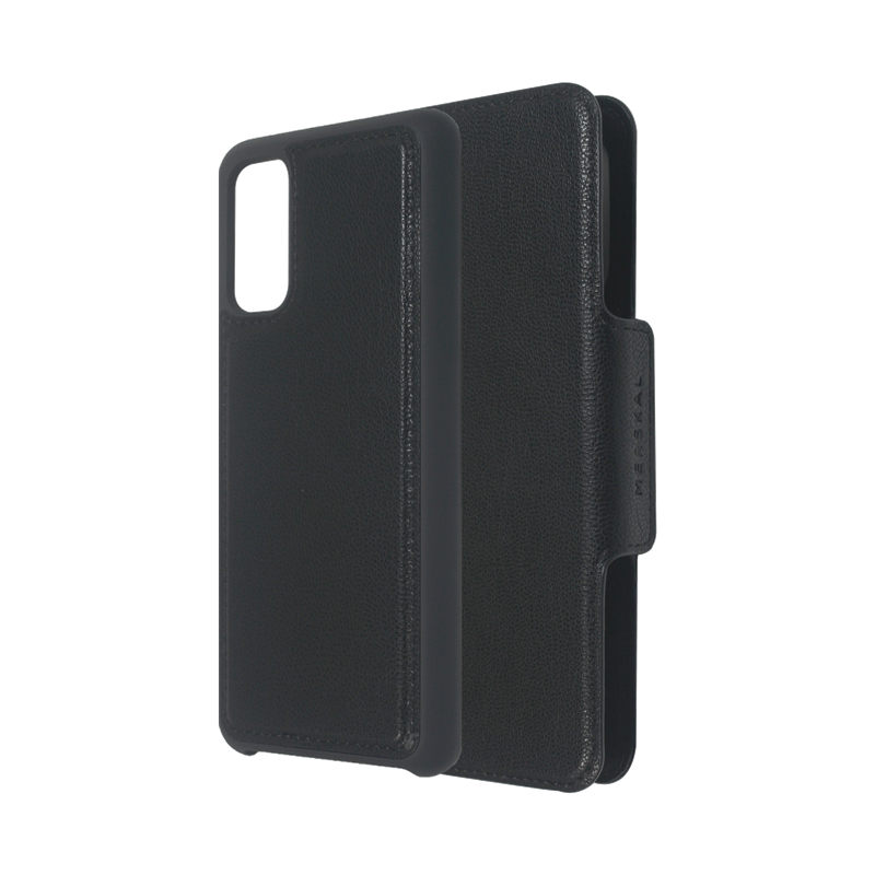 Merskal Wallet Case Galaxy S20 - Black