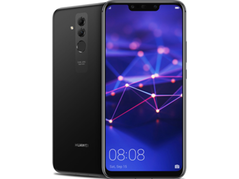 Mate 20 Lite - Black - Klar