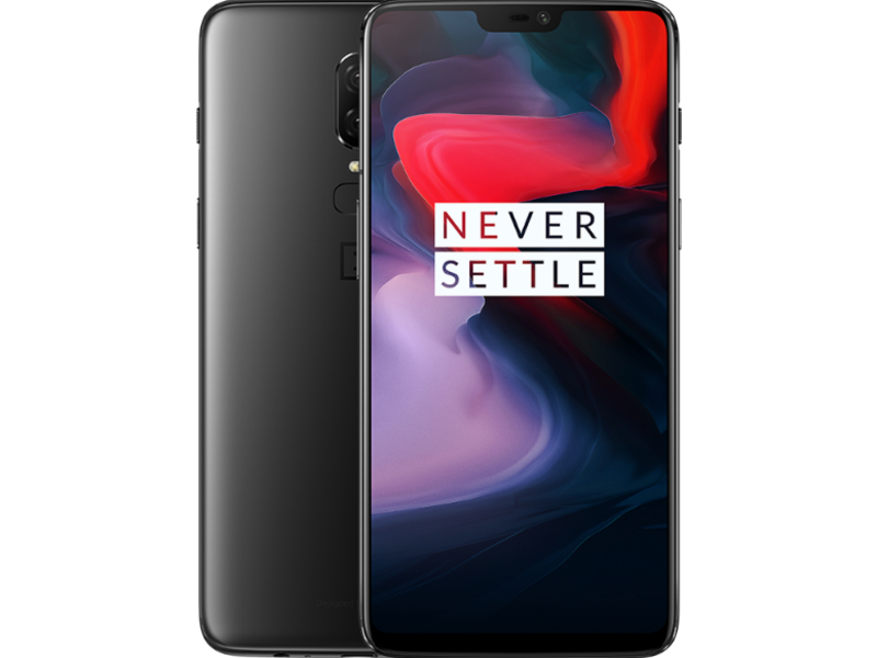 OnePlus 6 - Midnight Black - Klar