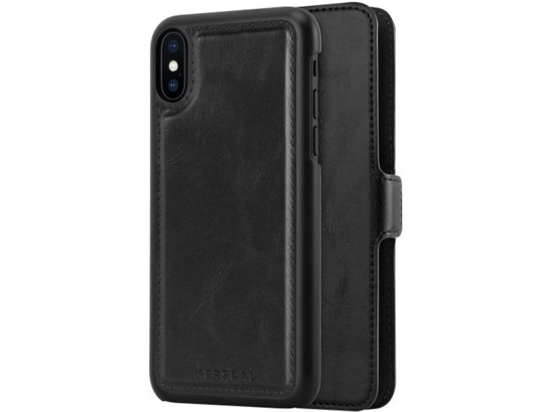 Magneto Slim iPhone X:Xs - Black - Klar