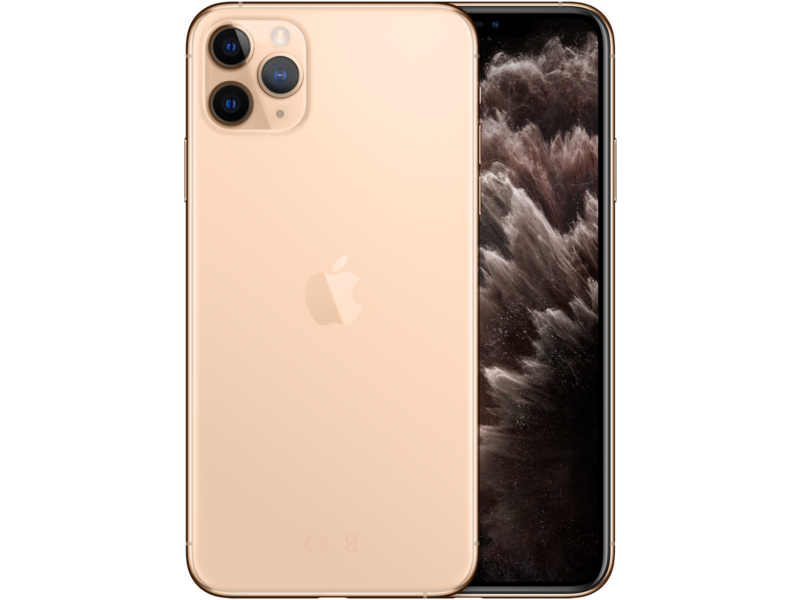 iPhone 11 Pro Max - Gold - Klar