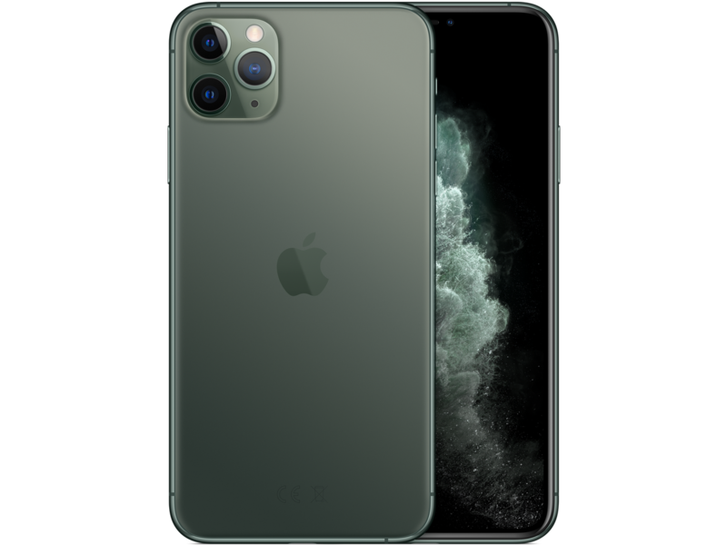 iPhone 11 Pro Max - Midnight Green - Klar